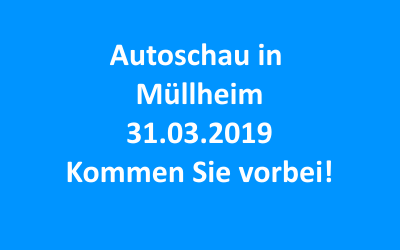 Autoschau in Müllheim 31.03.2019